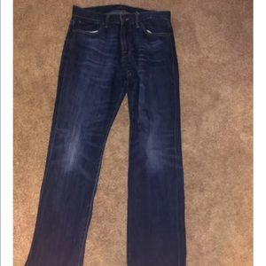 Lucky brand men jeans original straight w 34 L 32